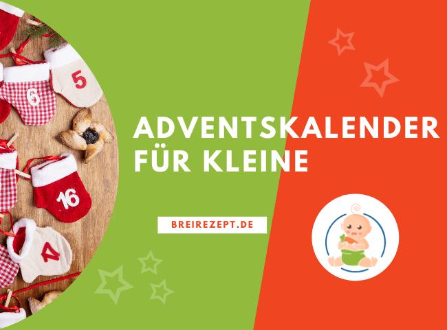 Adventskalender für Baby und Kleinkind