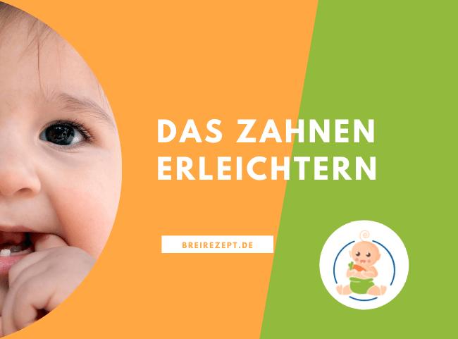 Zahnen beim Baby - Was hilft gegen Schmerzen