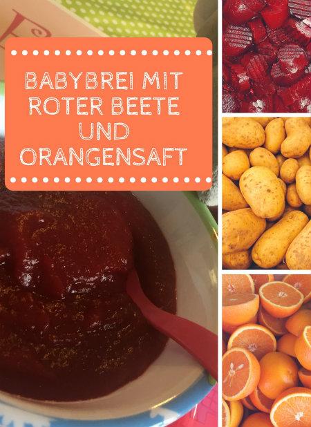 Rote Beete Babybrei Beikost Rezept Für Das Baby