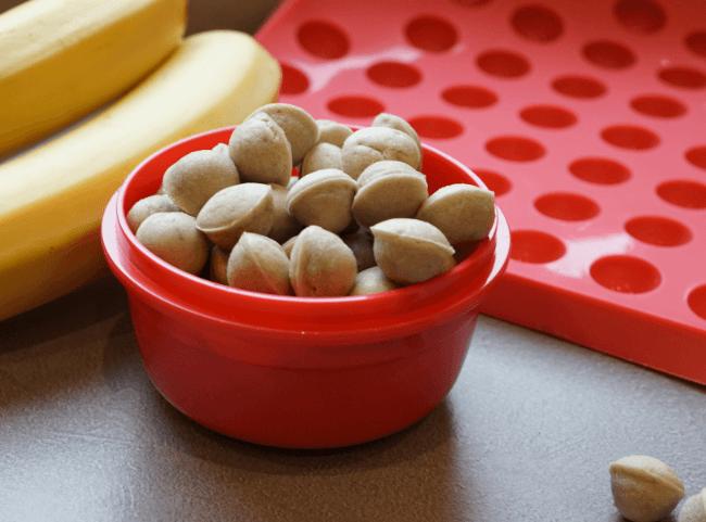 Mini-Kuchen-Drops Banane