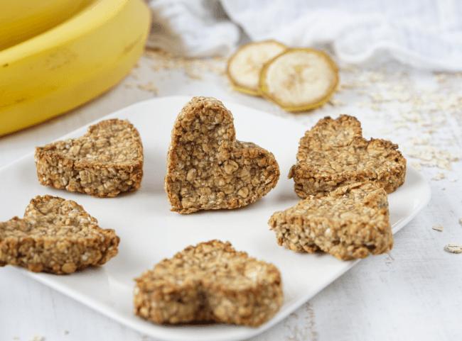 Bananen-Kekse für Kinder ohne Zucker