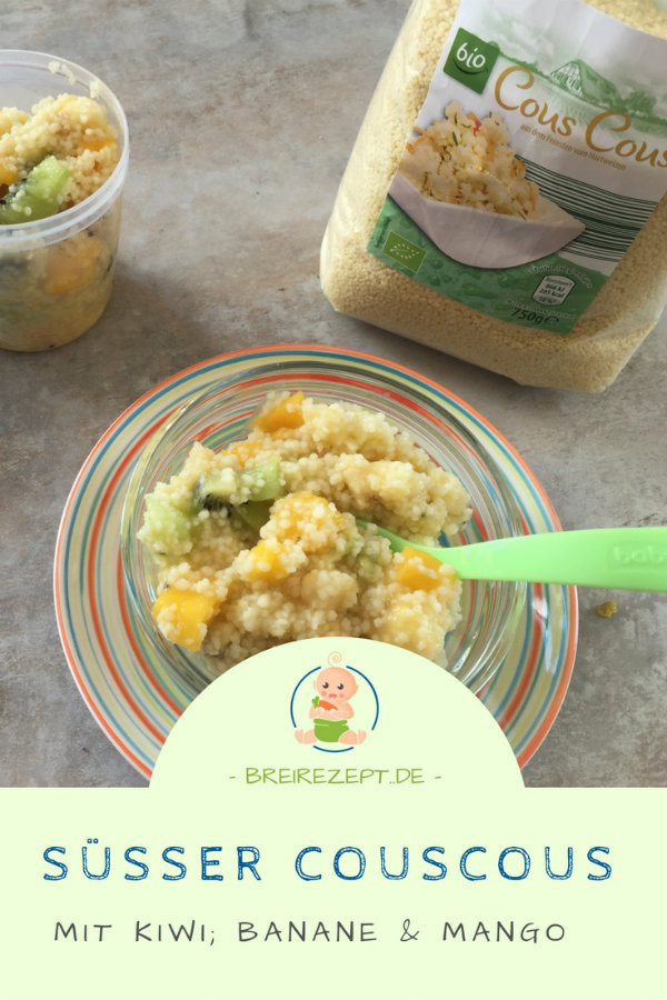 Couscous Obstsalat Baby Beikost