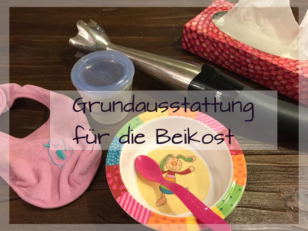 Praktische Babyaustattung für den Beikoststart