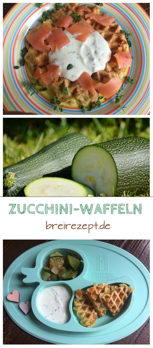 rezept f r herzhafte waffeln mit zucchini baby tauglich. Black Bedroom Furniture Sets. Home Design Ideas